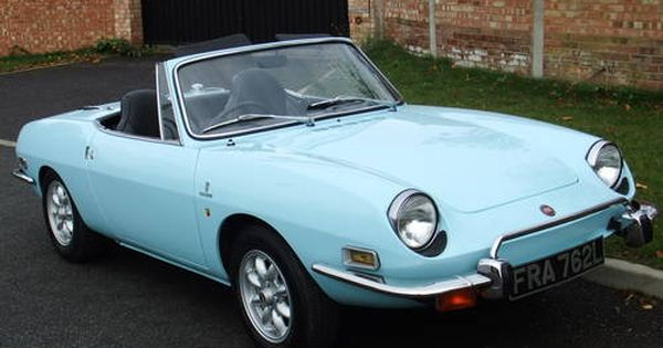 Fiat 850 Sport Spider R H D Abarth Upgrades Exceptional For