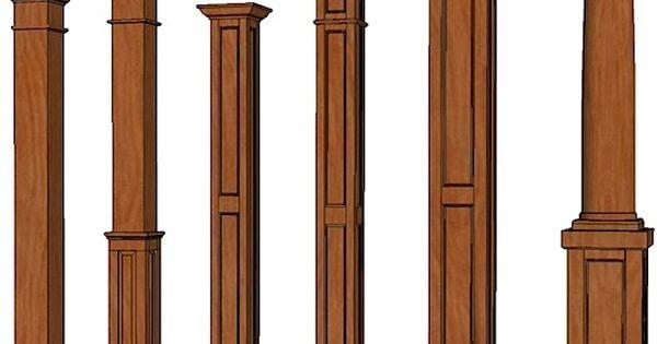 Wood Posts And Columns Columns Stain Grade Columns