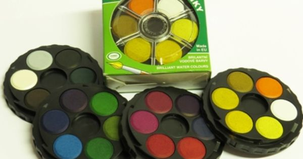 Koh I Noor Anilinky Brilliant Dye Watercolour Stacking Set Of 24