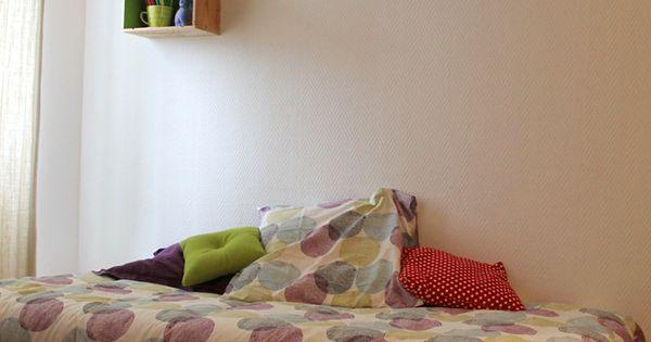 Comment faire un cadre de lit avec des palettes palette - Comment fabriquer un lit avec des palettes ...