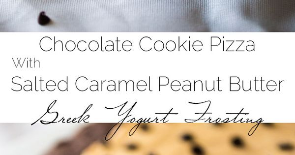 Cookie pizza, Chocolate peanut butter and Pizza you on Pinterest