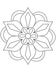Awesome Picture Of Rangoli Coloring Page Paginas Para Colorear