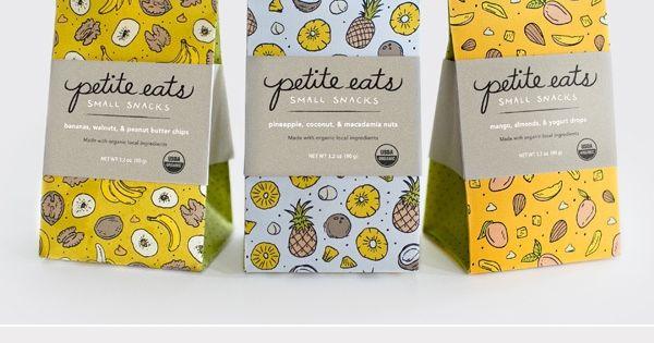 Petit Eats Healthy Snack Foods Packaging Design