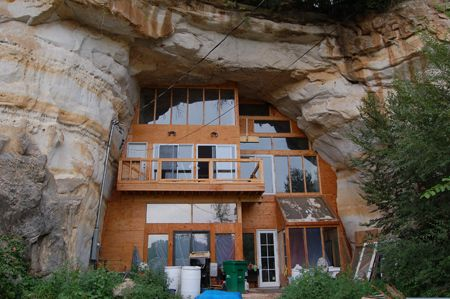Cave homes in Tennessee mountains. , I also wanted to say I
