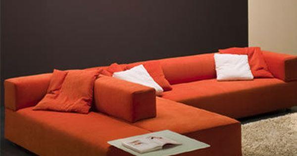 Contemporary Modular Sofa Dolmen By Enzo Berti Ferlea Sofa