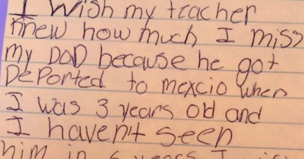 Teacher Share Heartbreaking Note From Her Third Grade Clas Message For My Essay About Hero