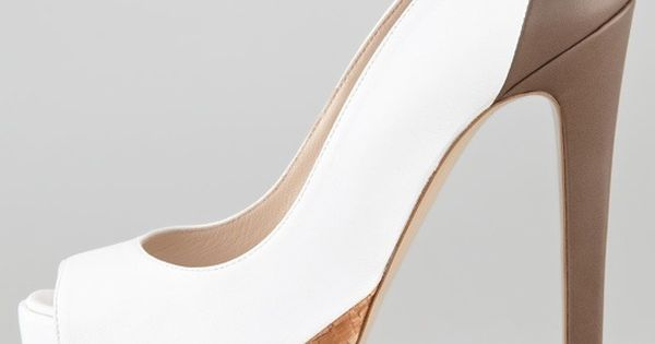 Ruthie Davis Hamel Platform Pump, Mink:Chocolate | See more about Ruthie Davis, Platform Pumps and Mink.