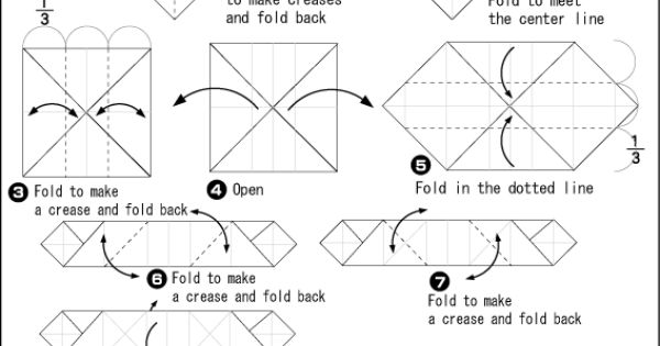 origami dice