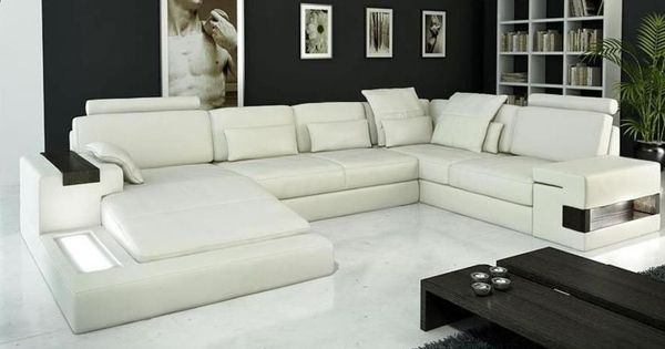 Modern leather sofa sectional sofas toronto ottawa for Large sectional sofa toronto