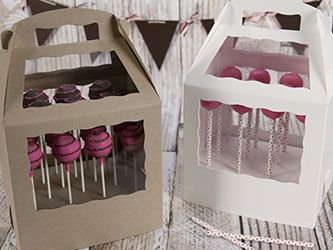 Cake Pop Boxes Great Site For Baking Packaging Cake Pop Boxes