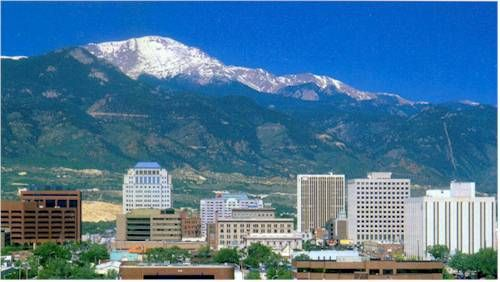 Want A Higher Credit Score Move To Colorado Springs Study Beautiful Places Colorado Wonderful Places