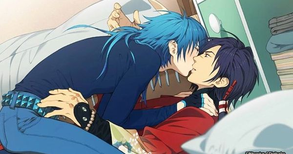 dramatical murder koujaku x aoba apparently its from