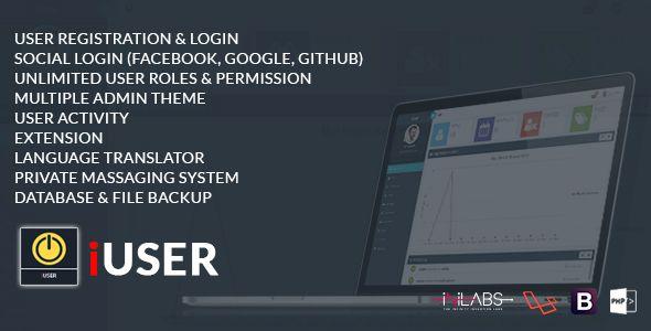 Iuser Advanced Php Login And User Management Php Login Admin Login Admin Password