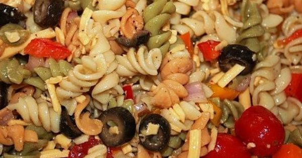 How To Make Cold Pasta Salad All About Food Pinterest