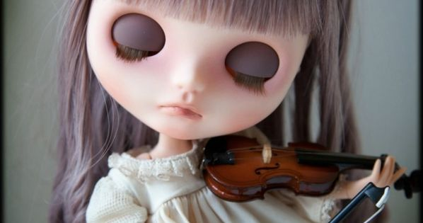 OOAK Custom Blythe Doll 'Violette' by anntwin | eBay