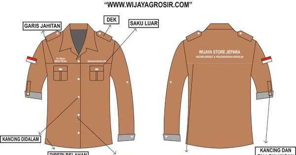 Baju Wearpack Pendek