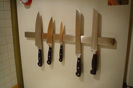 Look Magnetic Knife Rack For The Fridge Magnetic Knife Rack