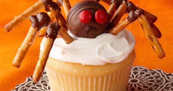 Halloween spider cupcake :-)