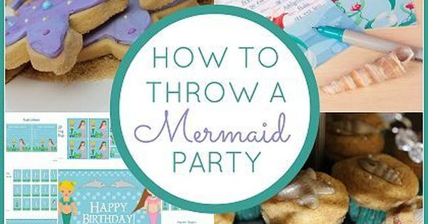 How to Throw a Mermaid Party mermaid party. OMG I want to
