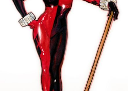 dc direct harley quinn by adam hughes comics