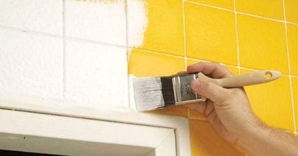 Pintar los azulejos del ba o manualidades pinterest - Pintar los azulejos ...