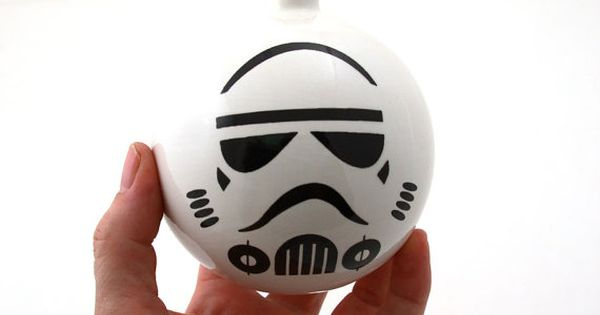 Storm Trooper xmas ornament (DIY idea)