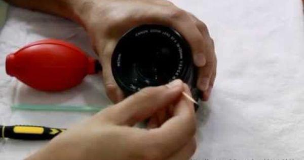 طريقة تنظيف عدسات كانون Canon S Lens Cleaning Smart Watch