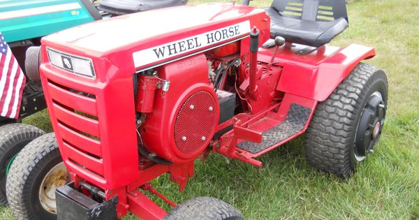 John Deere 1010 Turf Special : Little wheel horse tractor https youtube user