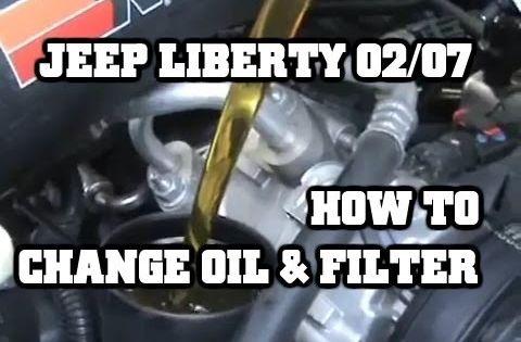 How To Change The Oil In Your 02 07 Jeep Liberty 3 7l Autos