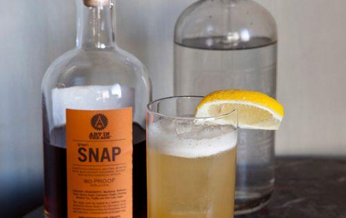 Ginger Snap Cocktail 1 Part Morris Kitchen Ginger Syrup 3 Parts Snap 1 Part Orange Juice 4