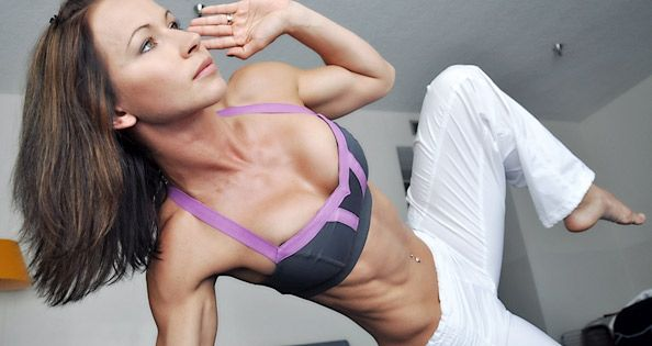 12 Min Ab workout, Body weight exercises, uses interval timer