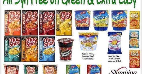 Slimming World Syns Or Free Foods Branded Grab And Go