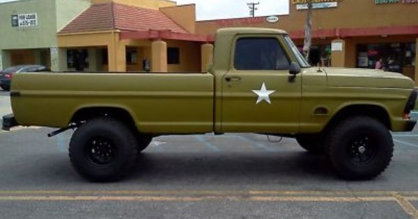 1977 F250 Army Trucks 170628224141 1972 Ford F250 Highboy 4x4