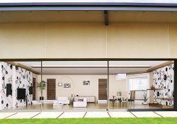 Theedge2 Ultra Slim Sliding Door With 20mm Slightlines Sliding Doors Bungalow Design Self Build Houses