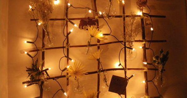 Deco Florale Et Lumineuse Deco Floral Deco Et Deco Noel