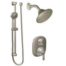 Pressure Balanced Shower System With 2 5 Gpm Shower Head Diverter