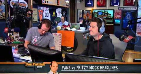 The Dan Patrick Show Official Home Dan Patrick Headlines Mocking