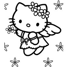 Print Coloring Image Momjunction Hello Kitty Coloring Kitty Coloring Hello Kitty Colouring Pages