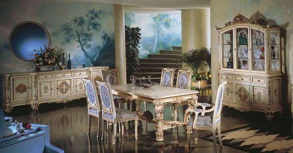 ... pranzo stile veneziano - Sala da pranzo dal gusto ricercato  Stiles