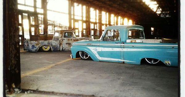 64 f100 dream car garage pinterest ford for Garage ford chelles 77
