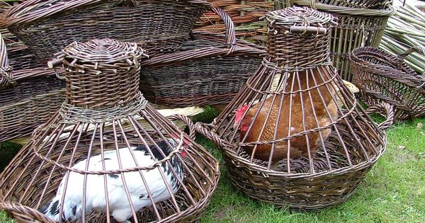Basket Weaving Ri : Pictures of some the many willow baskets weaving