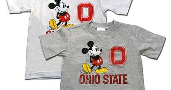 Distressed Ohio State Toddler Mickey Mouse T Shirt 14 95 Ohio State Brutus Ohio State Mickey Mouse T Shirt