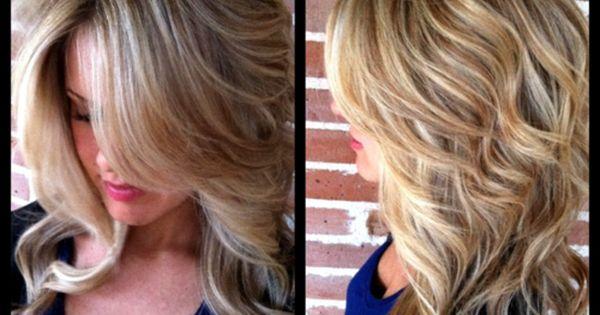 hair color idea like the style too