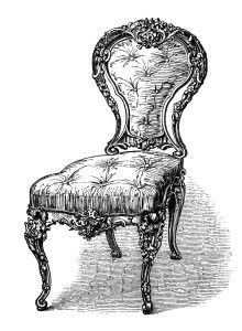 Antique Chairs Free Clip Art Engravings Clip Art Vintage Clip Art Free Clip Art