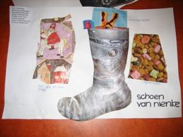 In de periode rondom Sinterklaas spelen schoenen een