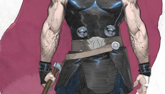 Esad Ribic's amazing sketches of Thor, the Odinson