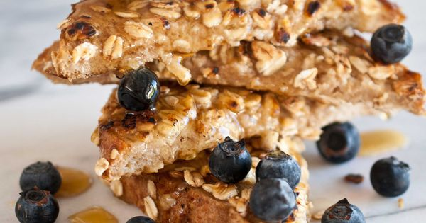 Coconut Oat French Toast (Dairy Free). Delish.