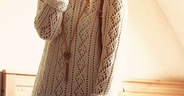 Sweater dress. love a knit dress that actually still leaves you with