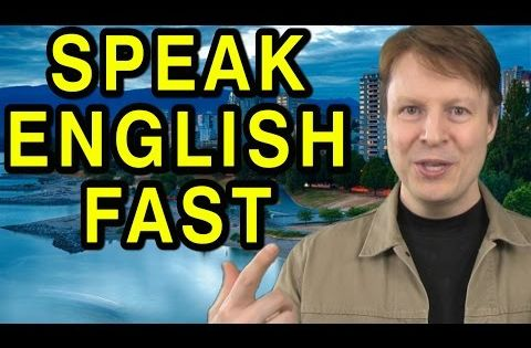 how to speak english fast and clear