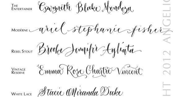 Hand Calligraphy Envelope Addressing Style M 233 Lange
